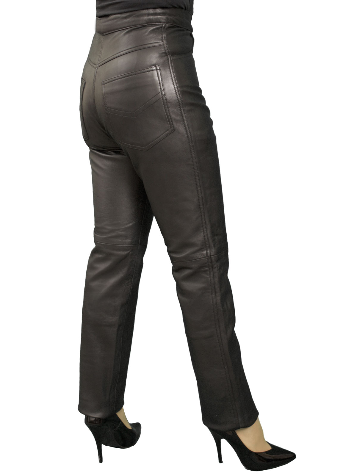 Simple Women Fashion Leather Pants Pictures To Pin On Pinterest