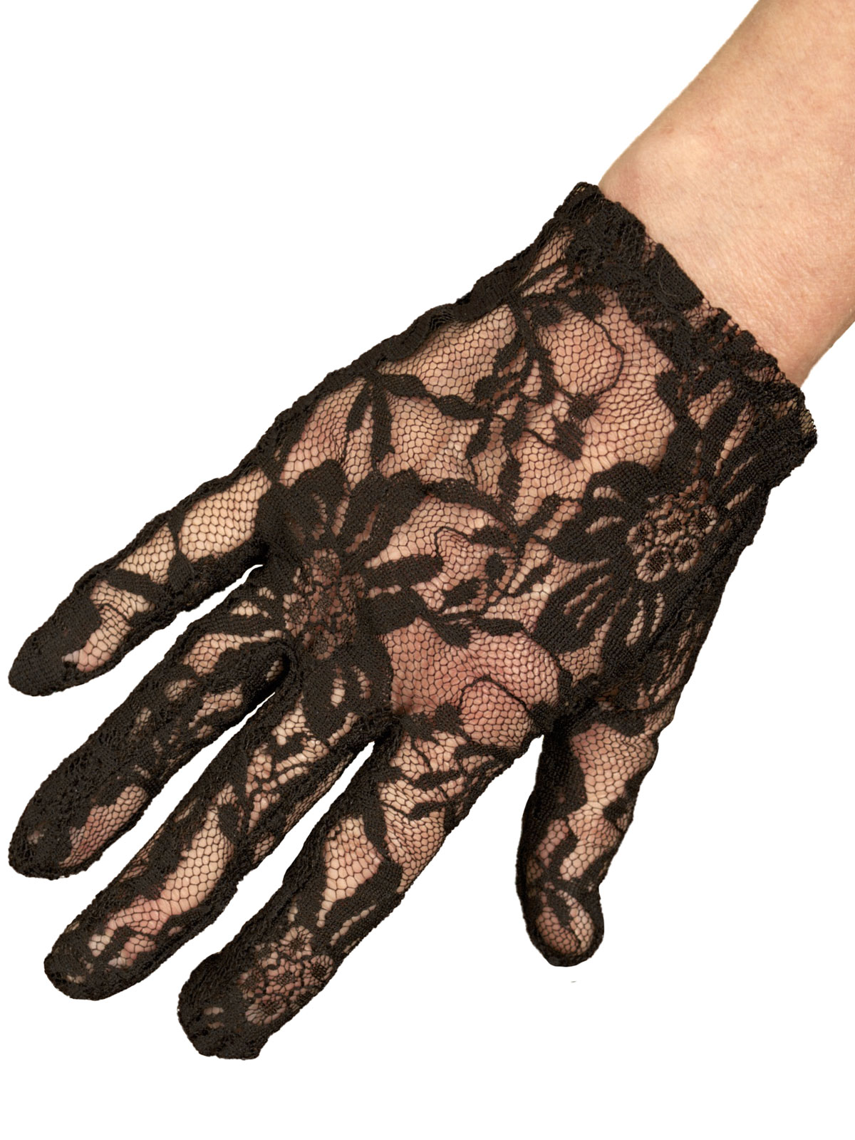 Dents Stretch Lace Dress Gloves Extra Short Tout Ensemble