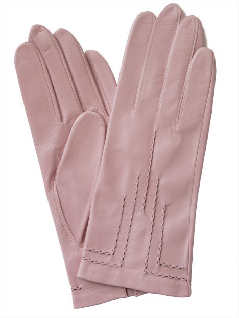 Dents Blossom Art Deco Hairsheep Leather Dress Gloves