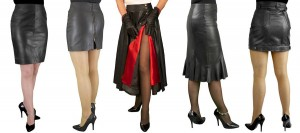 Black Leather Skirts