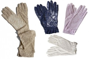 Dents Lace Dress Gloves
