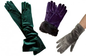 Dents Velvet Dress Gloves