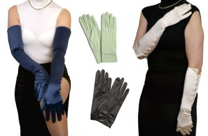 Dents Satin Dress Gloves