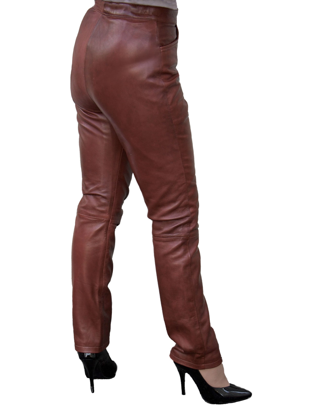 Burgundy Trousers Brown Shoes