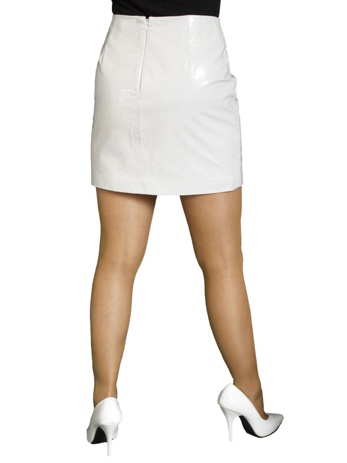f973561fe5 Patent Leather Mini Skirt (Red or White) - Tout Ensemble