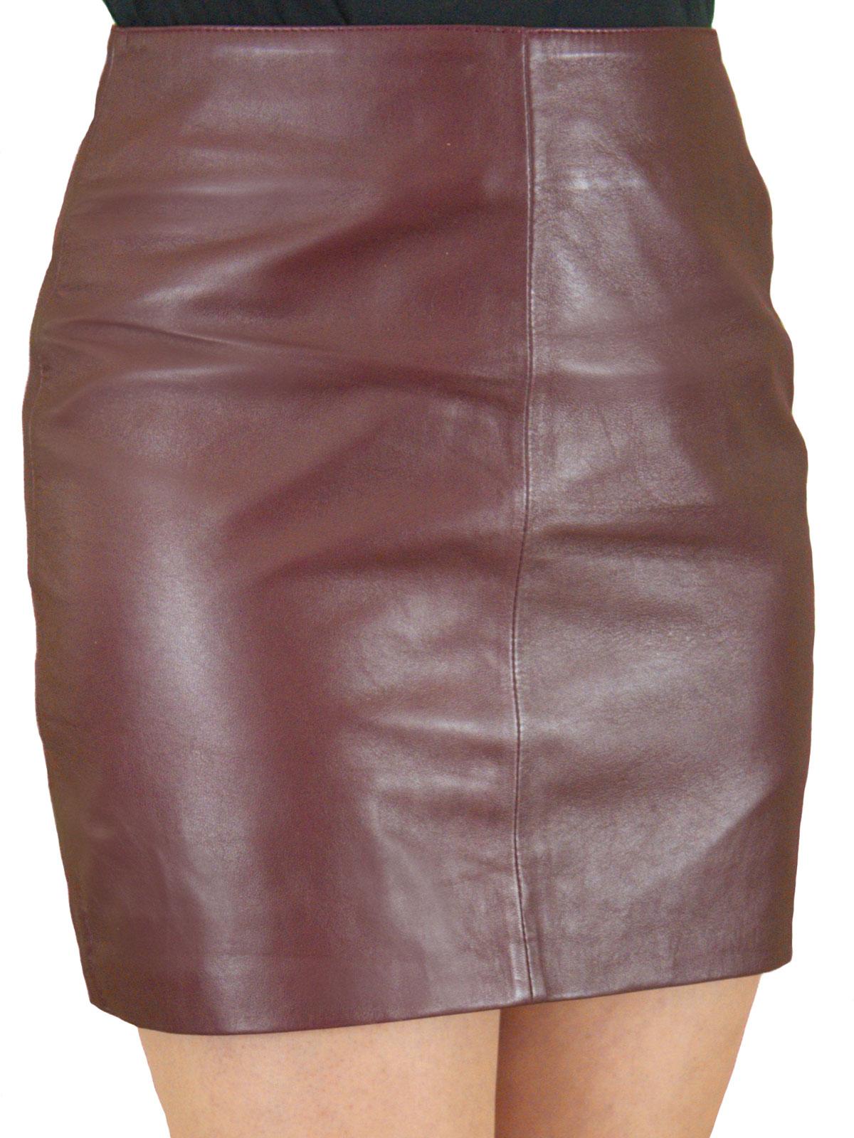 3d13b60e84 Luxury Soft Leather Mini Skirt - chic classic style - Tout Ensemble …