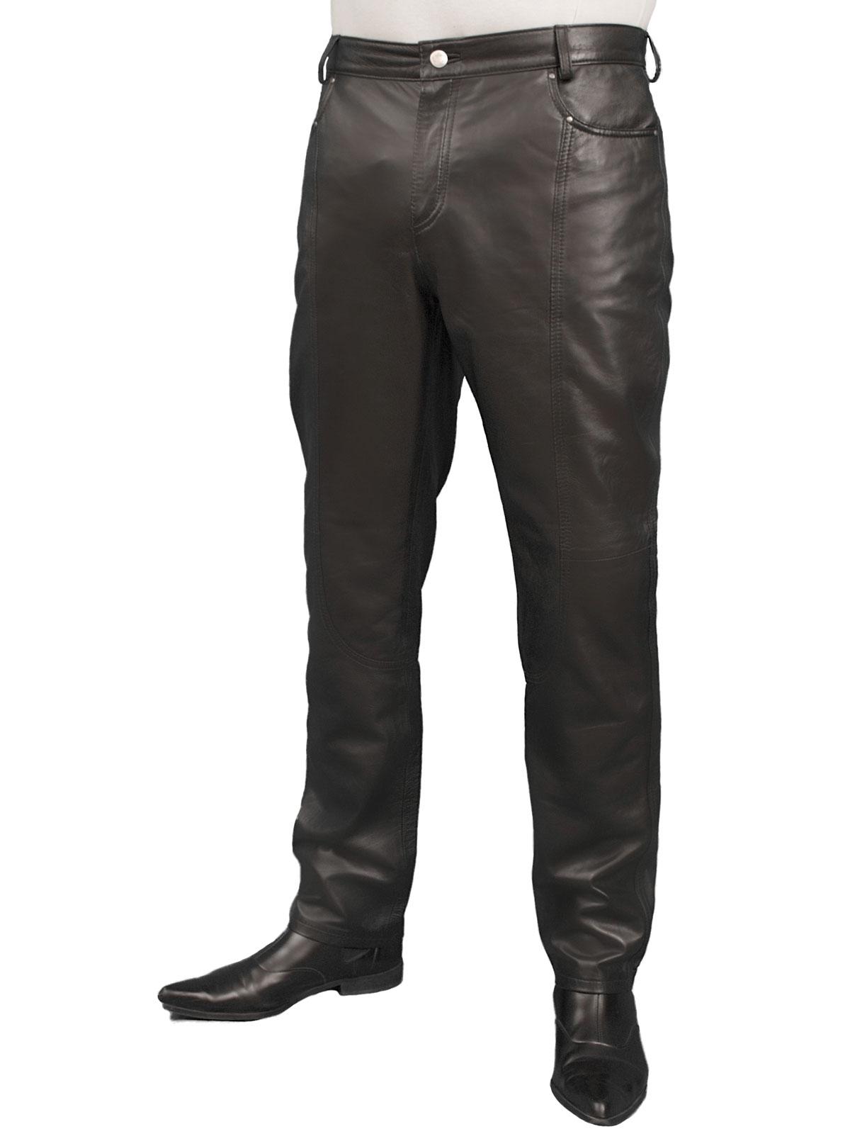 804c182e66c1df Mens Luxury Lambskin Leather Trousers Jeans (12 colours) - Tout Ensemble