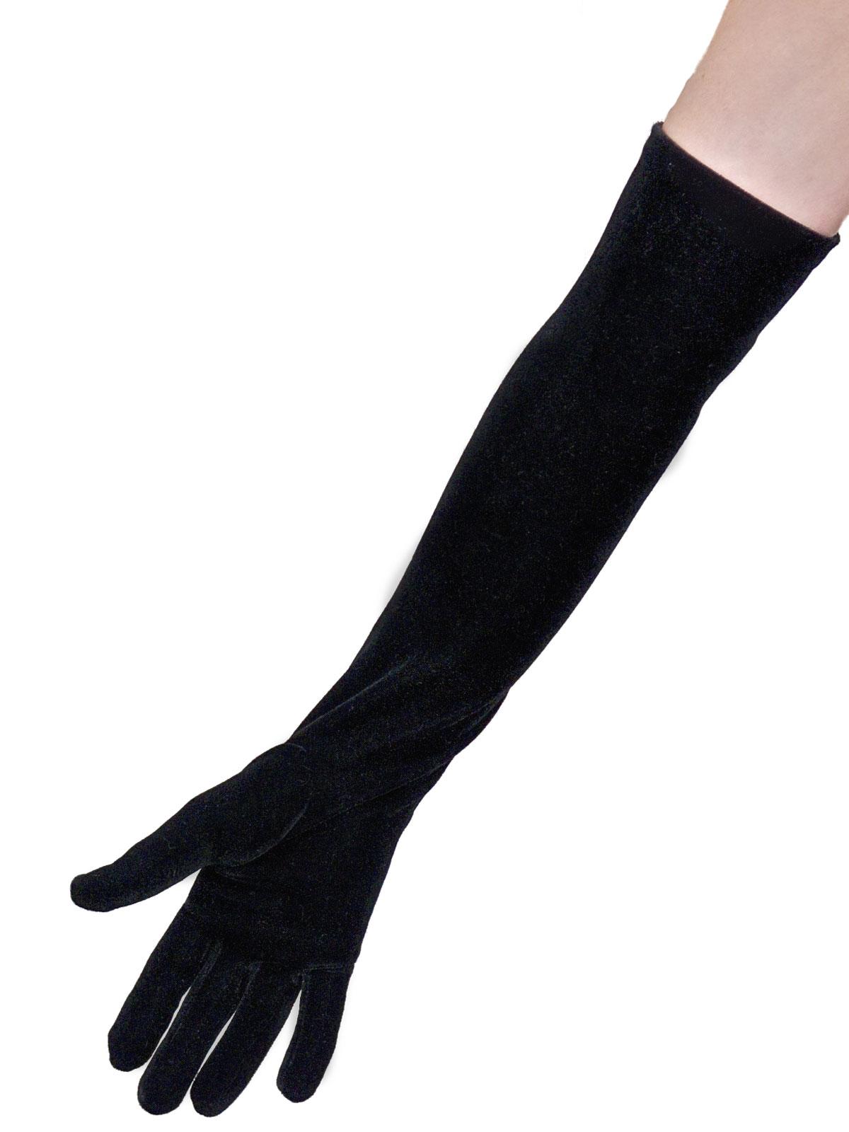 Dents Long Velvet Gloves Tout Ensemble