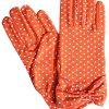 Dents Flame Cotton Polka Dot Vintage Dress Gloves