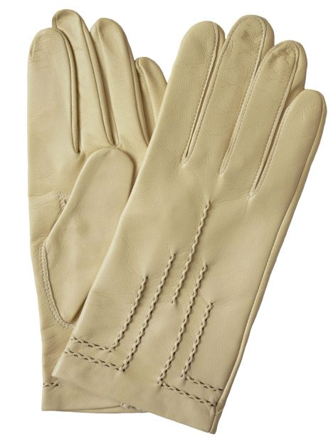 Dents Parchment Art Deco Hairsheep Leather Dress Gloves
