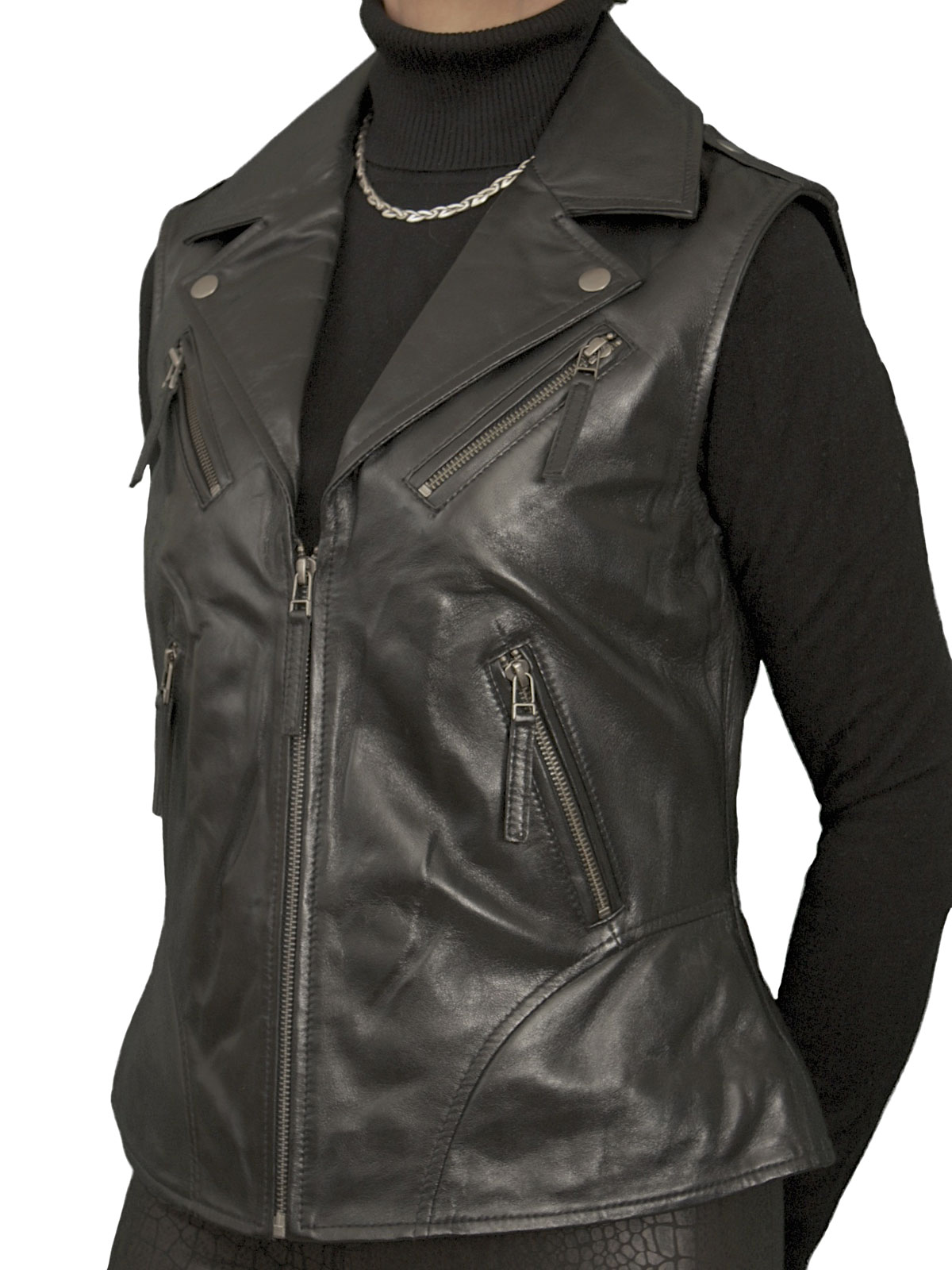 You can browse our collection of women's leather jackets which varies from the classic biker style leather jacket to the smart traditional ladies leather blazer which is perfect for all occasions. We stock a fantastic range of of Gilets and shooting vests that are perfect for many different activities.
