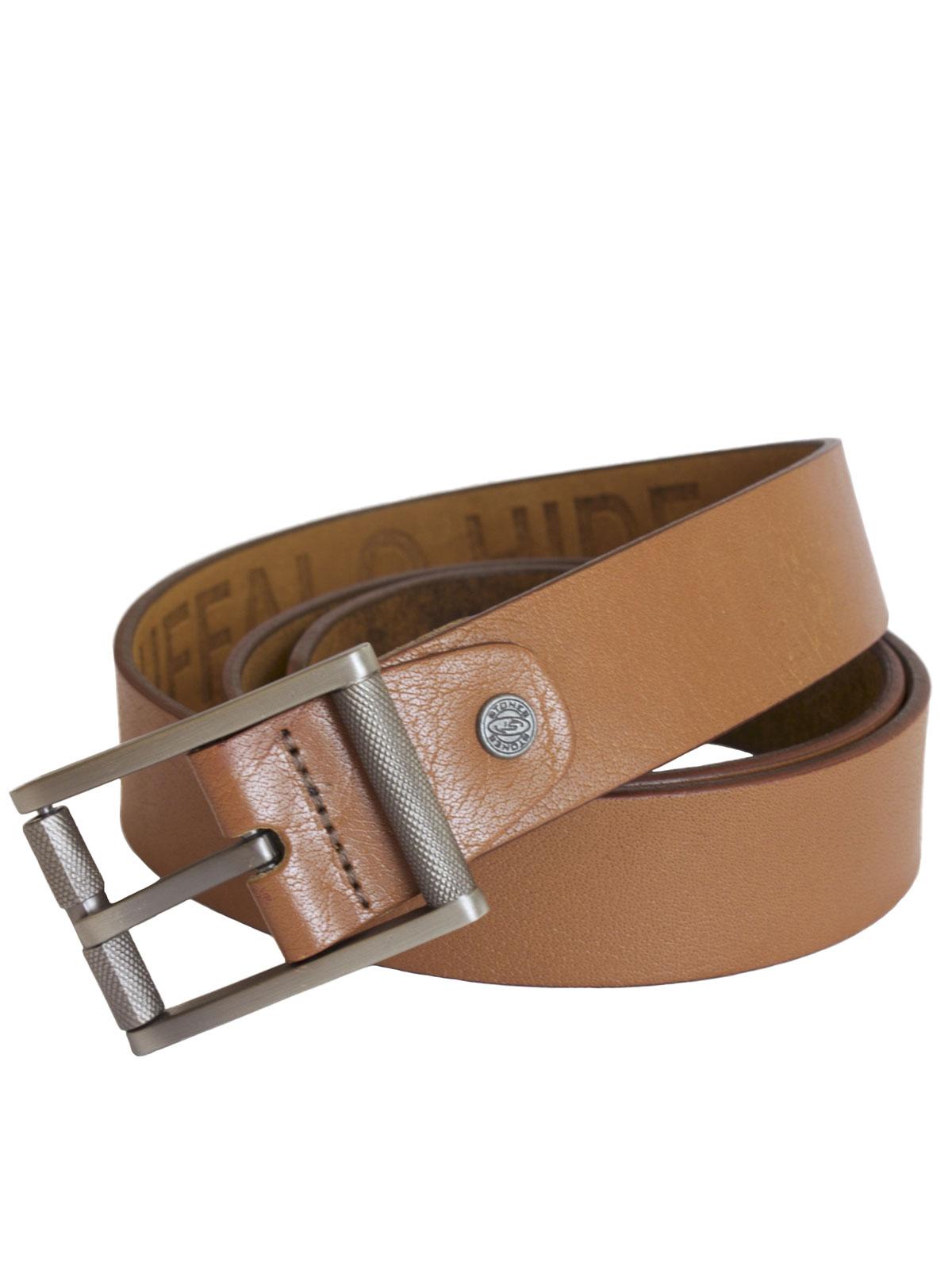 Stones Men's Leather Belt (B3), 3 colours