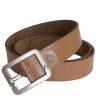 Stones Men's Leather Belt (Buckle B7), tan