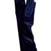 Dents Long Velvet Gloves, Navy