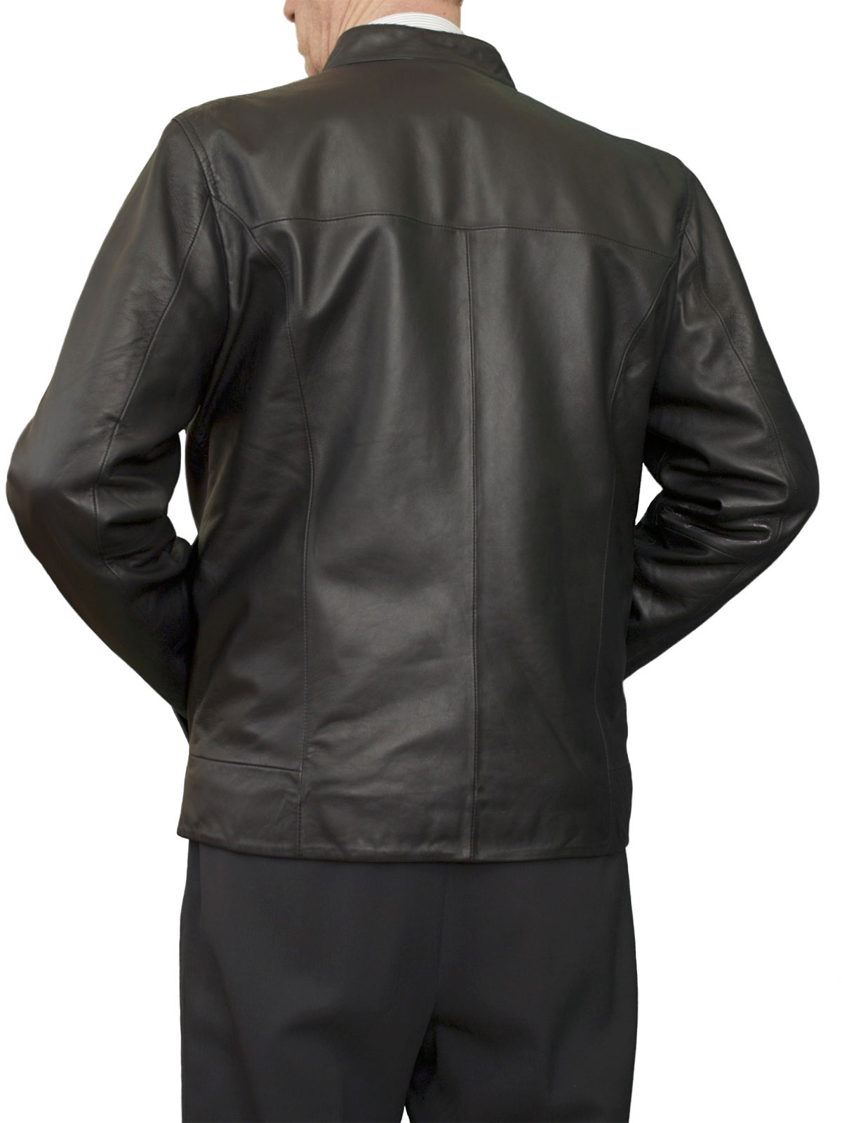 Mens Luxury Leather Bomber Jacket 3 Colours Tout Ensemble