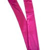 Dents Long Satin Gloves, Fuchsia