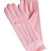 Dents Pale Pink Short Matt Satin Dress Gloves